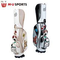 日本正規品MUSPORTSMUスポーツ703W6102レディースゴルフバック8.5型キャディバッグローリングソール【M・USPORTS】【MUスポーツ】【エムユー】