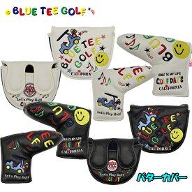 ブルーティーゴルフ ヘッドカバー スマイル & カート パター用 パターカバー ピンタイプ マレットタイプ 【BLUE TEE GOLF】【SMILE & CART】