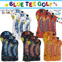 ブルーティーゴルフ エナメル ヘッドカバー ドライバー用 フェアウェイウッド用 ユーティリティー用 【BLUE TEE GOLF】