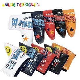 ブルーティーゴルフ エナメル パターカバー パター用 ピンタイプ ピン型 【BLUE TEE GOLF】