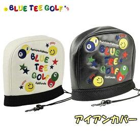 【即納】 ブルーティーゴルフ アイアン用 ヘッドカバー スマイル & ピンボール 【BLUE TEE GOLF】【SMILE & PINBALL】