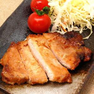 特製味噌の優しい味★豚ロース味噌ステーキ130g×40パック 業務用ケース
