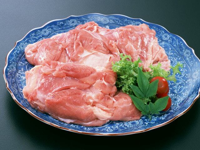 鶏もも肉(業務用2kgパック)鶏肉 もも モモ 精肉(料理例)から揚げ、親子丼、鍋、カレーなどにお弁当