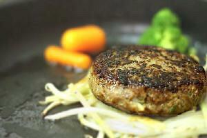 香味野菜と黒胡椒のバーグ 150g×40個 【送料無料】業務ケースでまとめ買い!