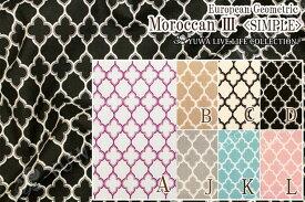 生地/モロッカン柄/有輪商店 公式/モダン・シック/European Geometric シーティングソフトチンツ Moroccan/SIMPLE/EG116513