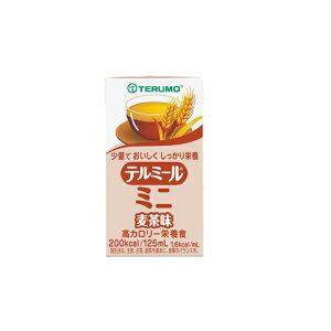 濃厚流動食 テルミールミニ 麦茶味 125ml×24パック TM-M1601224 テルモ