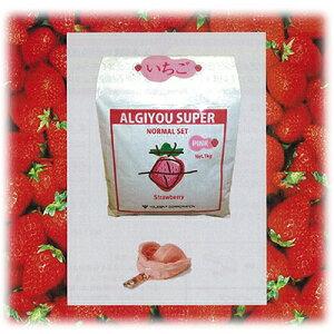 アルギン酸塩印象材 アルジユースーパー いちご ピンク 5kg(1kg×5) ユーデント