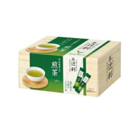 宇治抹茶入り煎茶 インスタント スティック 0.8g×1箱(100本入) 辻利