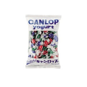 まとめ買い2袋セット 業務用キャンディ キャンロップ ヨーグルト 1袋(1000g・約190粒入) サクマ