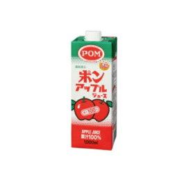 まとめ買い2ケースセット ☆100% 紙パック アップル 1L×1ケース(6本入) えひめ飲料