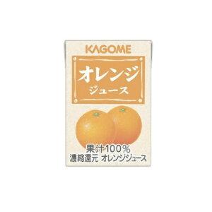 まとめ買い2ケース ☆オレンジジュース 業務用 100ml×72本入 カゴメ