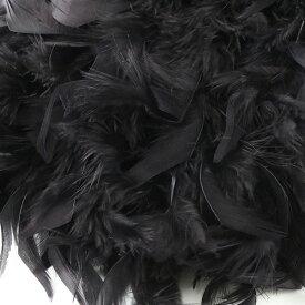 羽根 装飾 『シャンデリー クロ』