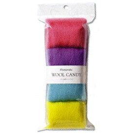 ハマナカ ウールキャンディ 4色セット ティーンカラー/H441-120-13[フェルト羊毛]