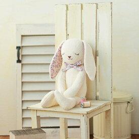 ハマナカ オーガニックコットングッドナイト やわらか手触りのウサギ/H434-024