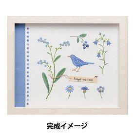 刺しゅうキット 『青木和子カラーコレクション BLUE (ブルー) No.963』 LECIEN ルシアン cosmo コスモ