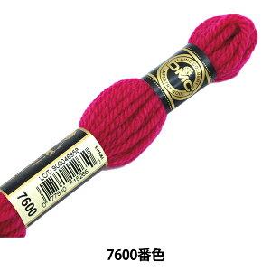 刺しゅう糸 『DMC 4番刺繍糸 タペストリーウール レッド・ピンク系 7600』 DMC ディーエムシー