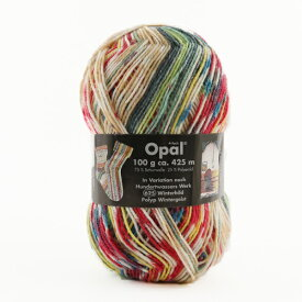 【opal毛糸30%オフ】 毛糸 『Hundertwasser(フンデルトヴァッサー) 2104番色』 Opal オパール