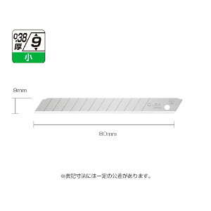カッター 『オルファ替刃(小)10枚PCケース SB10K』 イトー