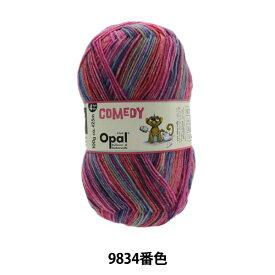 ソックヤーン 毛糸 『Opal Comedy (オパール コメディ) 4ply9834番色』 Opal オパール