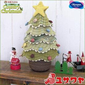 オリムパス パッチワークキット フリルがかわいいキルトツリー [パッチワーク キット クリスマス クリスマスツリー olympus 加