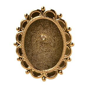 手芸金具 『ブローチ金具 B6 金 1個入り 17B0006001』