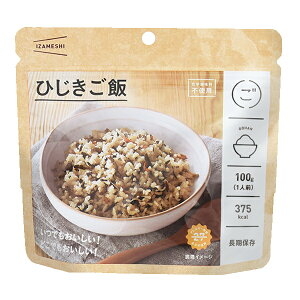 【母の日セールP10】 保存食品 『IZAMESHI(イザメシ) ひじきご飯』