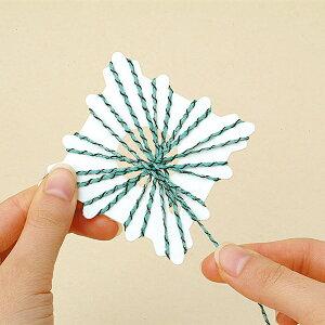 編み物ツール 『花モチーフカード 四角 H205-578』 Hamanaka ハマナカ