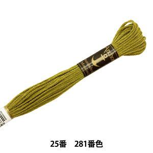 刺しゅう糸 『Anchor(アンカー) 25番刺繍糸 281番色』