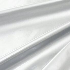 【コスプレ関連最大20%オフ】 【数量5から】 生地 『コスチュームエナメル薄手 シルバー』