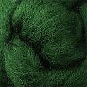 【羊毛セール】 フェルトつくり 約50g 16 グリーン[フェルト羊毛/羊毛クラフト]