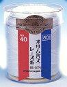 ■オリムパス レース糸 金票40番/100g 白(801)[編み物/手編み/レース編み]