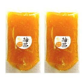 国産 無添加 ゆず茶 1kg(500g×2個) 木頭ゆず(栽培期間中農薬不使用)