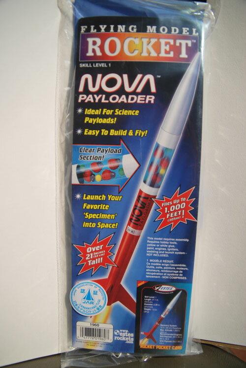 Nova payloader(1960)(ノバペイロータ)モデルロケットキット