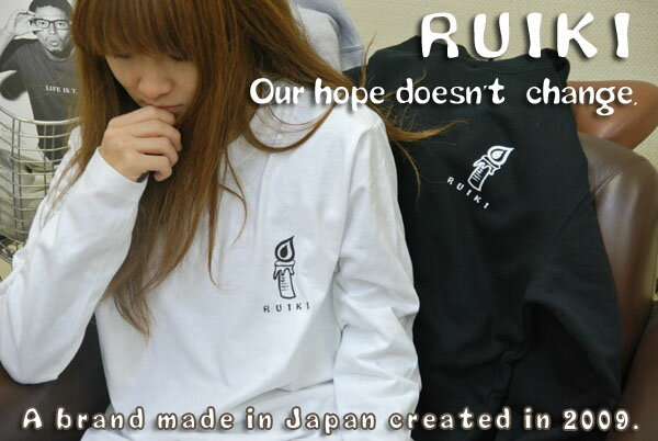 RUIKI ロングスリーブTシャツ【送料無料】