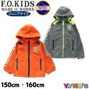 子供服エフオーキッズ長袖ジャケット2020春物NASAフーディジャケットJr