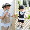 Child four circle top and bottom set [BAOBAO]fs3gm (kids)] fs04gm [top and bottom set stack tops and pants top and bottom set stole Eve suit formal suit of a boy stack style shirt and shorts which was received newly on August 3