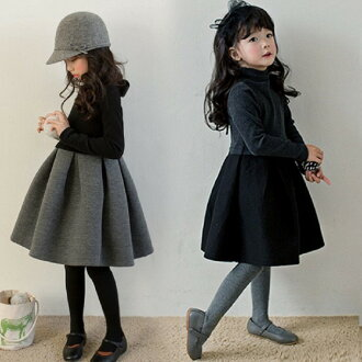 A formal dress bonding dress flared skirt received newly on January 17 is formal, and everyday wear Korea children's clothes entrance ceremony graduation ceremony Korea children's clothes long sleeves are prepared; youth Korea child fs04gm 110cm 120cm 13