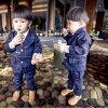 (孩子們)] fs04gm [男童兒童適應下來集兒童燕尾服下來檢查集的西裝下設置的男孩正式的西裝韓國孩子衣服正式的西裝兒童 surtsgrea 岩 fs3gm02P20Sep14
