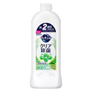 キュキュットクリア除菌緑茶の香りつめかえ用385ml花王台所用洗剤