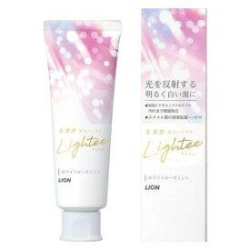 Lightee (ライティー) ハミガキ ホワイトローズミント 100g ライオン 歯磨き粉