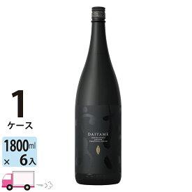 送料無料 いも焼酎 だいやめDAIYAME25゜ 1800ml瓶 6本入 1ケース(6本)
