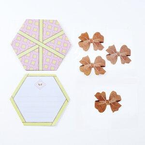 MINI LETTER SET Gift Letter 大人 おしゃれ シンプル かわいい 結婚式 #素敵便 プレゼント ギフト 贈り物 アレンジ [M便 3/25]