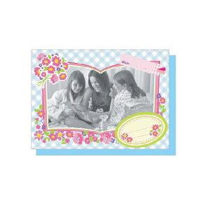 PHOTO FRAME CARD フラワーブーケ 大人 おしゃれ シンプル かわいい 結婚式 #素敵便 プレゼント ギフト 贈り物 アレンジ [M便 5/25]