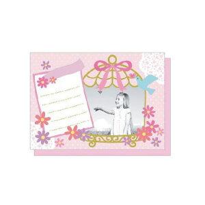 PHOTO FRAME CARD フラワー&バード 大人 おしゃれ シンプル かわいい 結婚式 #素敵便 プレゼント ギフト 贈り物 アレンジ [M便 5/25]