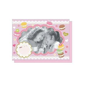 PHOTO FRAME CARD ガーリー&スウィーツ 大人 おしゃれ シンプル かわいい 結婚式 #素敵便 プレゼント ギフト 贈り物 アレンジ [M便 5/25]