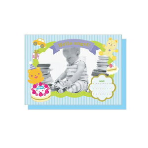 PHOTO FRAME CARD ハローボーイ プレゼント ギフト 贈り物 アレンジ [M便 5/25]