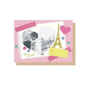 PHOTO FRAME CARD クラッシックメモリー 大人 おしゃれ シンプル かわいい 結婚式 #素敵便 プレゼント ギフト 贈り物 アレンジ [M便 5/25]