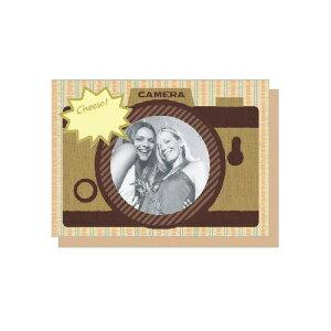 PHOTO FRAME CARD クラッシックフォト 大人 おしゃれ シンプル かわいい 結婚式 #素敵便 プレゼント ギフト 贈り物 アレンジ [M便 5/25]