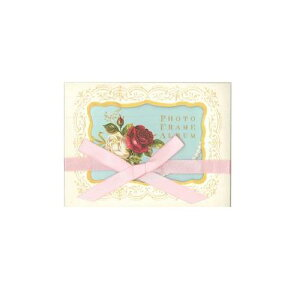 PHOTO FRAME ALBUM クラシカルローズ グリーティング 大人 おしゃれ シンプル かわいい 結婚式 #素敵便 プレゼント ギフト 贈り物 アレンジ [M便 3/25]