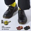 5位:ドクターマーチン 3ホール ギブソン Dr.Martens 1461 3HOLE GIBSON 11838002 メンズ レディース 靴 マーチン ブランド 本革 レザー シューズ 革靴 カジュアル おしゃれ 売れ筋 定番 黒 赤